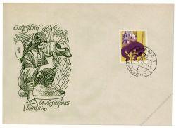 DDR 1972 FDC Mi-Nr. 1736 ESt. Unbesiegbares Vietnam