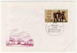 DDR 1976 FDC Mi-Nr. 2169 SSt. Internationale Mahn- und Gedenkstätten