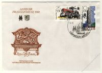 DDR 1980 FDC Mi-Nr. 2498-2499 SSt. Leipziger Frühjahrsmesse