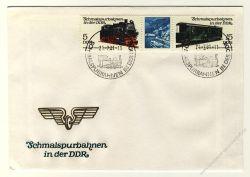 DDR 1981 FDC Mi-Nr. 2629-2632 (ZD) SSt. Schmalspurbahnen