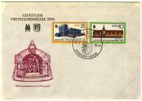 DDR 1984 FDC Mi-Nr. 2862-2863 SSt. Leipziger Frühjahrsmesse
