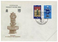 DDR 1984 FDC Mi-Nr. 2891-2892 SSt. Leipziger Herbstmesse