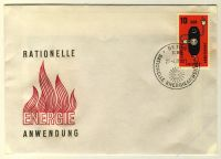 DDR 1981 FDC Mi-Nr. 2601 SSt. Rationelle Energieanwendung