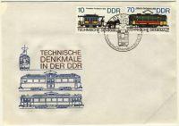 DDR 1986 FDC Mi-Nr. 3015-3018 SSt. Technische Denkmale