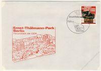 DDR 1986 FDC Mi-Nr. 3014 SSt. Übergabe des Ernst-Thälmann-Parks