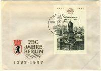 DDR 1986 FDC Mi-Nr. 3027 (Block 84) SSt. 750 Jahre Berlin