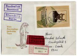 DDR 1987 FDC Mi-Nr. 3106 (Block 87) SSt. 100 Jahre Esperanto