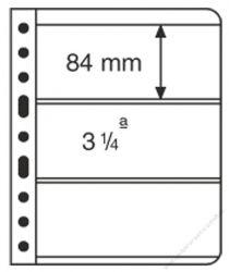 LE VARIO 3C - 5er Pack Hüllen 3er-Teilung glasklar bis 195 x 80 mm