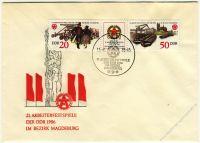 DDR 1986 FDC Mi-Nr. 3028-3029 (ZD) SSt. Arbeiterfestspiele der DDR